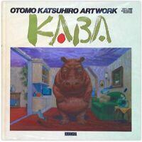Otomo Katsuhiro Artwork KABA Illustration BOOK Collection 1st. Edition Japan
