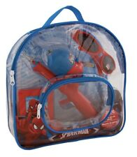 Marvel Spiderman Shakespeare Youth-Boys Backpack Telescopic Fishing Kit NWT