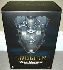 """2010 Hot Toys 1/4th Scale Iron Man 2 Movie 9"""" War Machine Mark 1 Bust Canadian"""