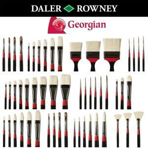 Daler Rowney Georgian Artist Oil brushes - Full Range