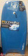 Body Glove Rush 42.5 Inch Body Board Boogie Wave Core Surf Bodyboard Blue NEW