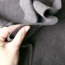 Kochwolle Walkloden 100% Wolle Trachten Taupe Melange Meliert Wintermantel