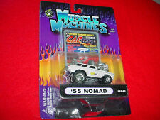 MUSCLE MACHINES CO2-02 '55 NOMAD WHITE CARTOONS MIP FREE USA SHIPPING