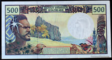 France  Pacifique 500 Francs CFP Polynesie Tahiti New Caledonie France Outre Mer