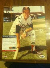 Brooks Robinson Autographed 8 X 10 - PSA/DNA Certified