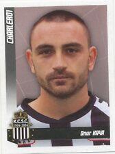 N°104 ONUR KAYA # BELGIQUE SPORTING CHARLEROI STICKER PANINI FOOTBALL 2011