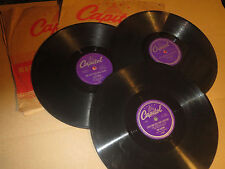 78RPM 3 Jan Garber on Capitol, Clodhopper, Love Me, Love My Baby, Blossoms V+