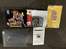 Conker's Bad Fur Day N64 - Nintendo 64 - Boxed Aus PAL GOOD/VGC *RARE Collector*