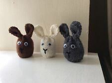 EASTER RABBIT   KNITTING PATTERN  TO COVER /COSY CREME EGG   FUND RAISER CHARITY