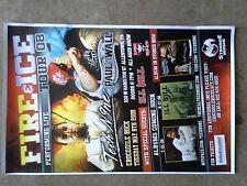 Tech N9ne Paul Wall Ill Bill 2008 Fire & Ice Tour Allentown PA Poster