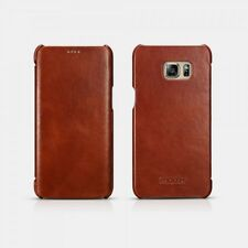 Case Samsung Galaxy S6 Edge plus Vintage Leather Case Brown