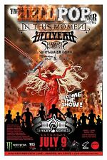 "IN THIS MOMENT ""HELLPOP TOUR 2016"" WEST VIRGINIA CONCERT POSTER- Metalcore Music"