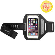 Vertical Pouch Universal Black/Black Sport Armband for Iphone 6 / 7 /8 & Plus