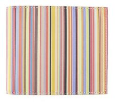 Paul Smith Mens Wallet Billfold Multi Stripe Signature Made in Italy BNWB
