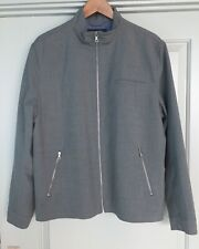 Men's Banana Republic Jacket Size Large L Coat Polo Zipper