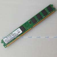 2GB PC2-6400 DDR2-800 DDR2 800Mhz 240pin Desktop Memory Low Density RAM NON-ECC