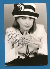 """Susan Marie Snyder  """"As the World Turns""""   4"""" x 6""""  Black & White Photo Signed"""