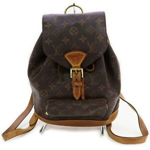 Louis Vuitton Back Pack Montsouris MM M51136 Browns Monogram 1905089