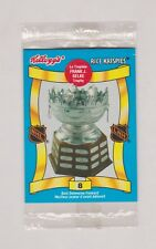 1992-93 Kellogg's Canada Rice Krispies NHL Trophy Sealed Pack of 3 Cards (E)