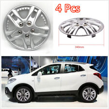 4 Pcs/Set Chrome ABS Plastic 12Inch Car Automotive Hub Caps Hubcap Wheel Covers