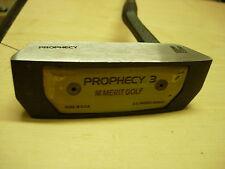 "1990's Merit Golf's 1990's PROPHECY 3 MALLET Putter 35"" Upright Lie"