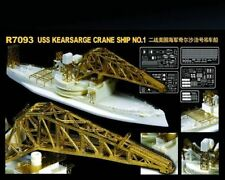 FreeShipping LionRoar 1/700 R7093  USS No.1 Crane Ship AB-1 MODEL KIT NEW