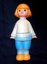 """1960s USSR Russian FOLK TALE """"IVAN the FOOL"""" Soviet Rubber SOUND Toy IVANUSHKA"""
