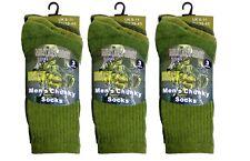 12 Pairs Mens Military Combat Thermal Socks Thick Warm Work Boot Socks 6-11