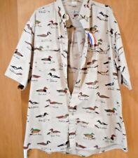 Men's XXL Short Sleeve DUCK Hunter's Casual SHIRT NWT Flint River 100% Cotton