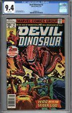 Devil Dinosaur #2 CGC 9.4 NM WHITE PAGES