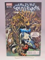 AMAZING SPIDER-MAN #9 VARIANT COVER GROOT MARVEL COMICS VF/NM CB815