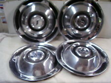 1958  STUDEBAKER   HUBCAP  SET   ALL 4  LOOK NICE ON OTHER YEARS TOO!!
