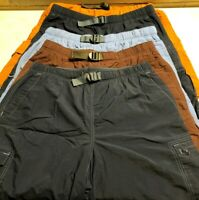 Columbia Outdoors Lightweight Cargo Hiking Shorts Mens Size L Large EUC 8-86