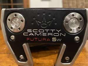 Titleist Scotty Cameron Futura 5w Golf Putter In Superb Condition Rate 9.5/10