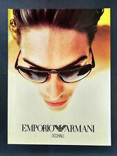 Emporio Armani - Occhiali - Sun Glasses - Magazine Advert #B4043