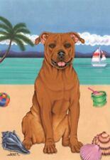 Beach House Flag - American Pit Bull Terrier 69096