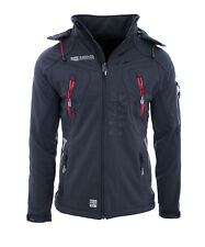 Geographical Norway Hooded Jacket #tangata Grey M