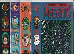 Dark Horse Presents #34, #35, #36 & #36B   Lot of 4 (1989/1990, Dark Horse)