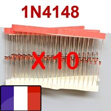 Diode 1N4148 Lot x10 Diodes de redressement 100 V 200 mA 10 diodes 1n4148