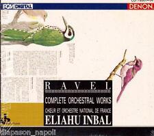 Ravel: Orchestral Works / Eliahu Inbal - CD Denon Japan