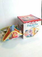 Vintage Fisher price Fun To Go Play Center 1985 With Box