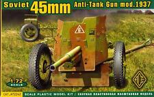 Ace Models 1/72 Soviet 45 mm ANTI-TANK GUN mod.1937