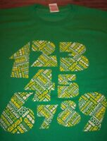 COUNTING CROWS Numbers T-Shirt MEN XL Band NEW