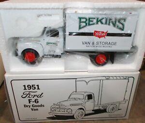 Bekins Van & Storage Moving 1951 Ford F-6 Dry Goods Van First Gear Truck