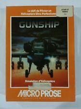 Jeu Gunship (simulation helicoptere) pour Atari Edition Française Complet