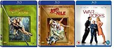 ROMANCING THE STONE / JEWEL OF NILE / WAR OF ROSES TRIPLE PACK TRILOGY BLU RAY