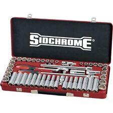 """Sidchrome 51pce Combo Socket Set 1/2"""" - Metric/AF - SCMT14130"""