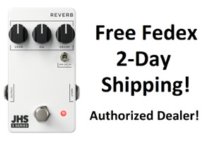 New JHS 3 Series Reverb Guitar Effects Pedal