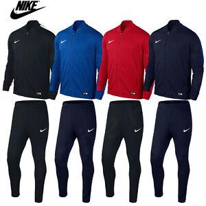 Boys Nike Academy Tracksuit Junior Kids Jogging Football Top Bottoms Age 6-14