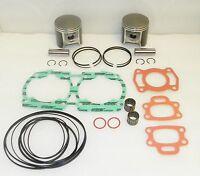 WSM Seadoo 650 Platinum Piston Top End Rebuild Kit PWC 010-816-10P - STD SIZE